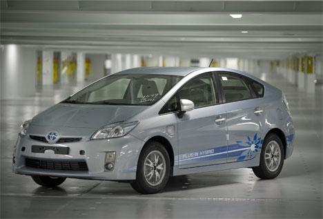 Toyota Prius híbrido enchufable (Plug-In Hybrid)