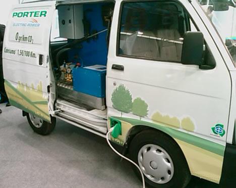 Porter Salón Vehículo y Combustibles Alternativos 2009