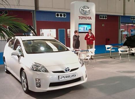 Toyota Prius Salón Vehículo y Combustibles Alternativos 2009