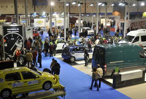 Vista Area Salon Vehiculo y Combustibles Aleternativos 2009