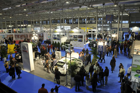 Vista Aerea General Salon Vehiculo y Combustibles Aleternativos 2009