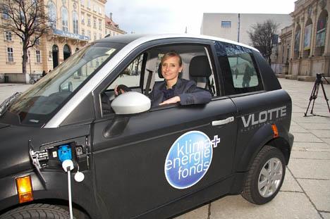 Imagen del proyecto de investigación sobre movilidad eléctrica en Vlotte, Austria