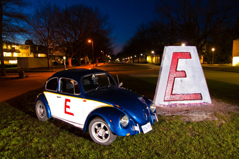 E-Beetle del equipo canadiense
