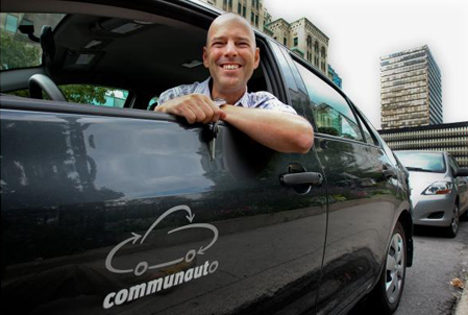Benoit Robert, CEO de Communauto