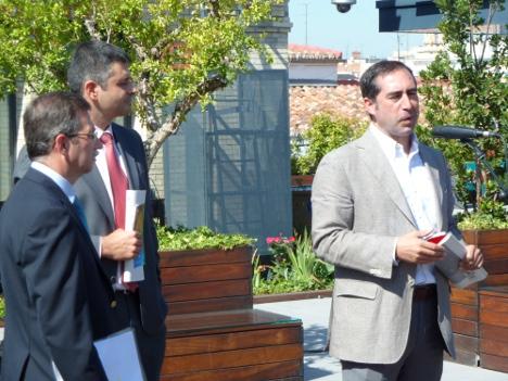 Antonio Lucio durante su intervención
