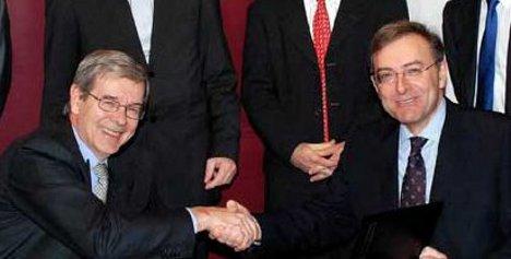 Varin y Reithofer vuelven a rubricar un acuerdo conjunto