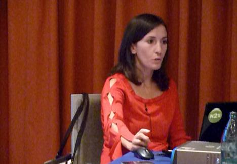 La ingeniero de N2S Laura Herranz