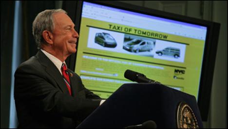 El alcalde de NY, Michael Bloomberg