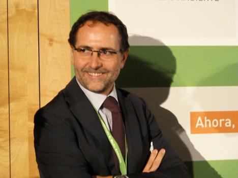Jaume Verge, en el Congreso CONAMA10
