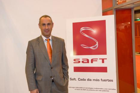 Joaquín Chacón, director general de Saft Baterías