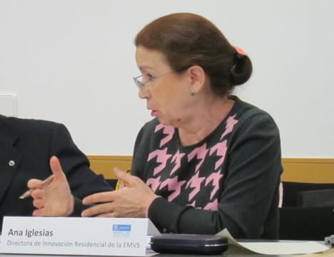 Ana Iglesias, directora de Innovación Residencial de la EMVS, propuso llevar adelante un proyecto demostrativo con un edificio de la Empresa Municipal de Vivienda y Suelo de Madrid