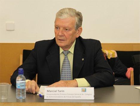 Marcial Tarín, secretario del Consejo Superior de Colegios de Administradores de Fincas, mostró su preocupación por la falta de información a la que se enfrenta su gremio en relación a los puntos de recarga del vehículo eléctrico