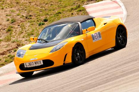 El Tesla Roadster ganó la ELECTROserie del 15 de mayo