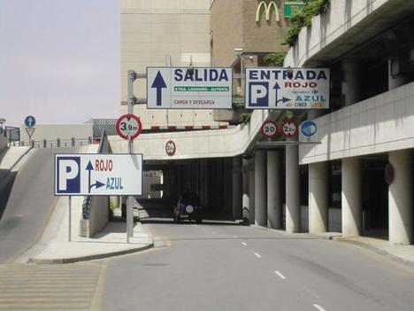 Parking del Centro Comercial Augusta