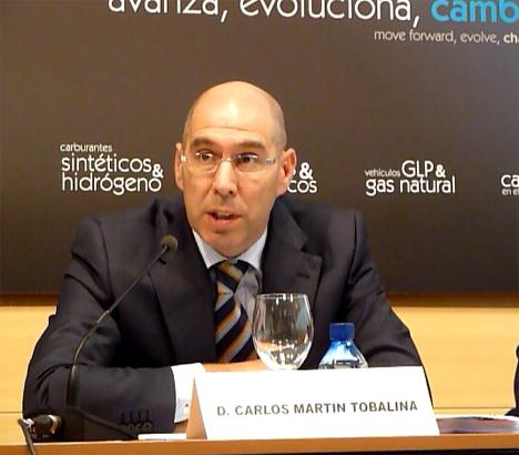 Carlos Martín desgranó la estrategia sobre el vehículo eléctrico en Castilla y León