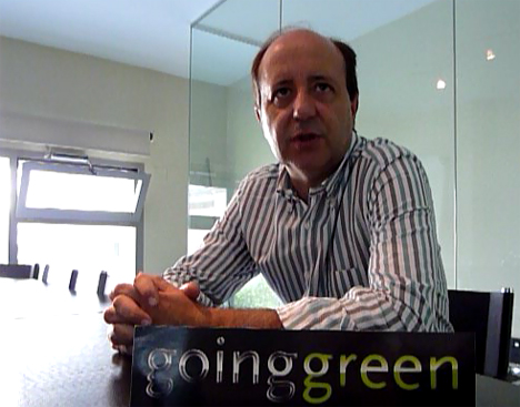 Gonzalo Alonso, director ejecutivo de Going Green
