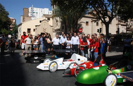 Vehículos presentados en la edición 2011 de la Murcia Solar Race
