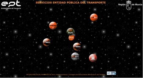 Web de transporte de Murcia