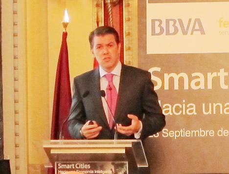 Enrique Sánchez Nuevo, Director de Ciudades de Ferrovial en la Jornada Smart Cities IDC