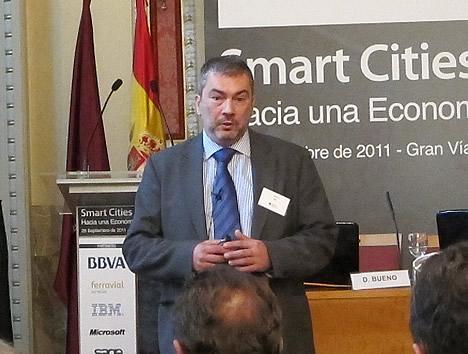 Javier Gil, Director de desarrollo de negocio Smarter Cities, IBM Spain en la Jornada Smart Cities IDC