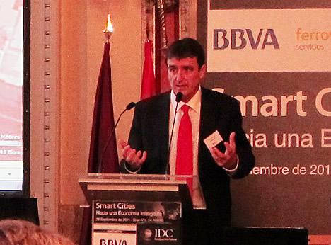 Héctor Sánchez Montenegro, Director de Tecnología, en la Dirección de Sector Público, Microsoft Spain en la Jornada Samart Cities de la IDC