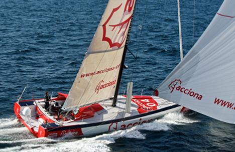 Acciona presenta su velero transoceánico