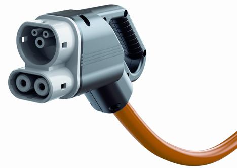 Sistema de Carga Combinada estándar internacional para vehículos de carga eléctrica en Europa y Estados Unidos.
