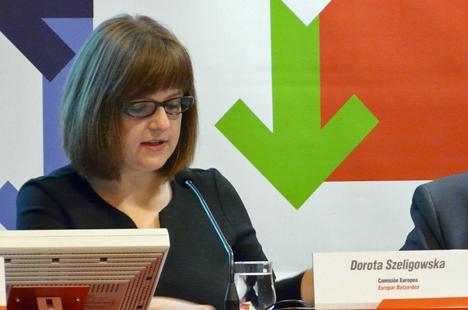 Dorota Szeligowska, Coordinadora de proyectos de la Dirección General de Movilidad de la Comisión Europea