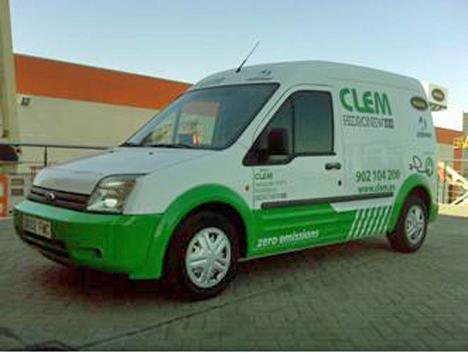 Nueva Ford Transit electrificada de Clem.
