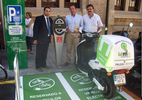 Instalación de recarga para vehículos eléctricos de Simon en Murcia.