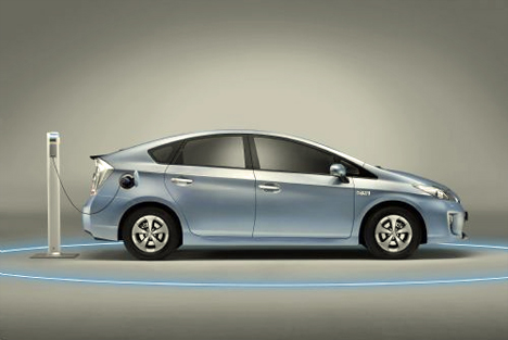 Toyota Prius Eléctrico Enchufable