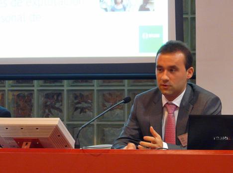 Gorka Pérez Arbizu, Responsable del área de seguridad en el Departamento de ingeniería de Desarrollo de Ikusi