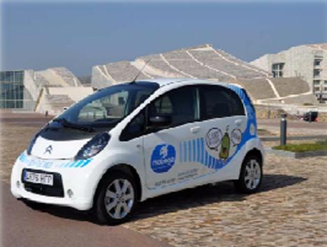Vehiculo electrico Mobega
