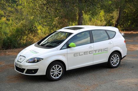 Prototipo Altea XL Electric Ecomotive, un vehículo de propulsión totalmente eléctrica y cero emisiones de CO2