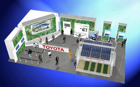 Stand Toyota en Smart Mobility City Tokio