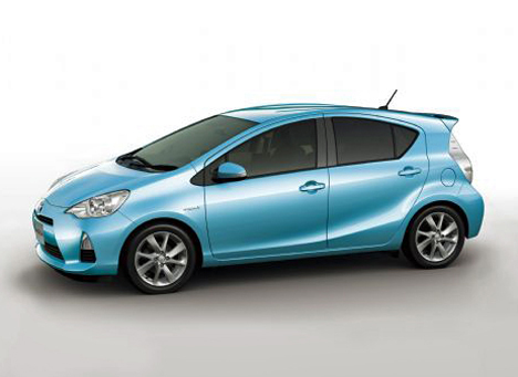 Vehiculo hibrido Toyota AQUA