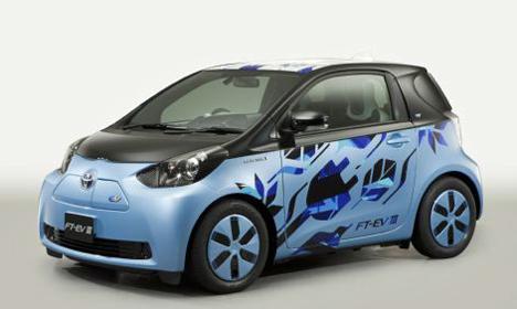 Vehiculo bateria de ion litio FT-EV-III