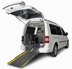 Nuevo Caddy Maxi bifuel GLP adaptado para personas con movilidad reducida.