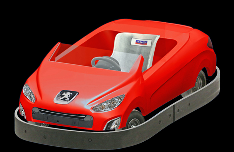 Replica del Peugeot 308 CC