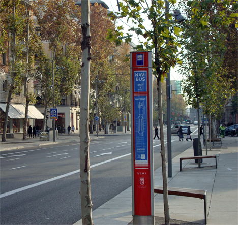 El centro de Madrid en el Bus de Navidad
