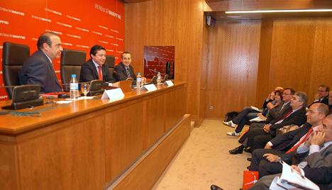 Pedro Calvo en las Jornadas de Seguridad Vial