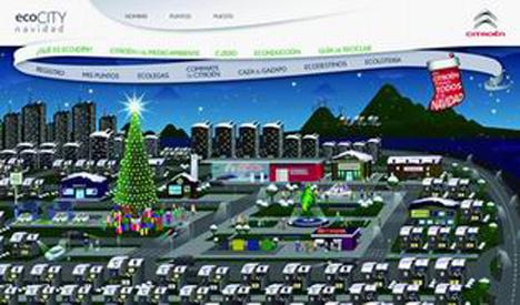 Ciudad ecologica y virtual de Citroen