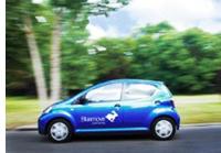 Coche de Bluemove carsharing