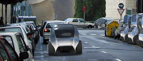 Vehiculo electrico de Hiriko