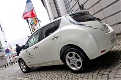 Vehiculo electrico para la UE