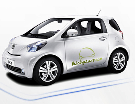 Coche para car sharing de HelloByeCars
