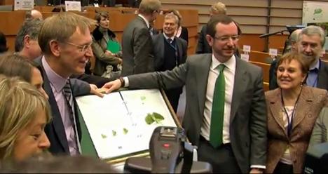 Ceremonia European Green Capital 2012