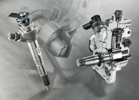 Motores Common Rail de Bosch