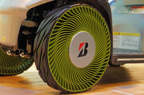 """""""non-pneumatic"""" de Bridgestone: mas ecologico y seguro"""
