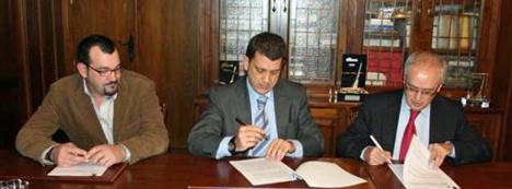 Acuerdo entre Indra y el Ayuntamiento de Ponferrada